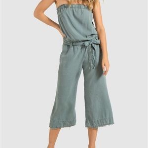 Cloth & Stone strapless jumpsuit, never worn
